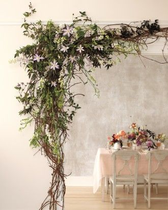 Spring Wedding Flowers We Love, Love, Love From Our Favorite Florists - Create a Woodsy Welcome