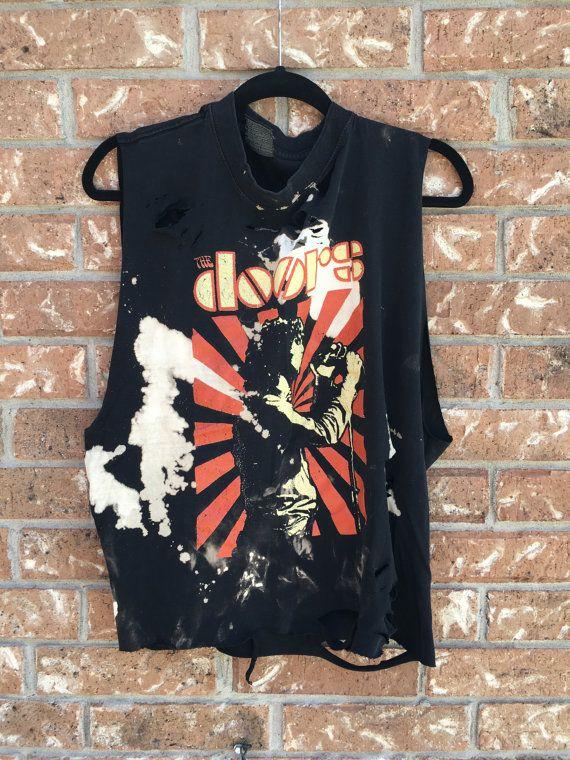 The Doors //tank// grunge// cut off // band shirt // concert shirt // rock // rock shirt