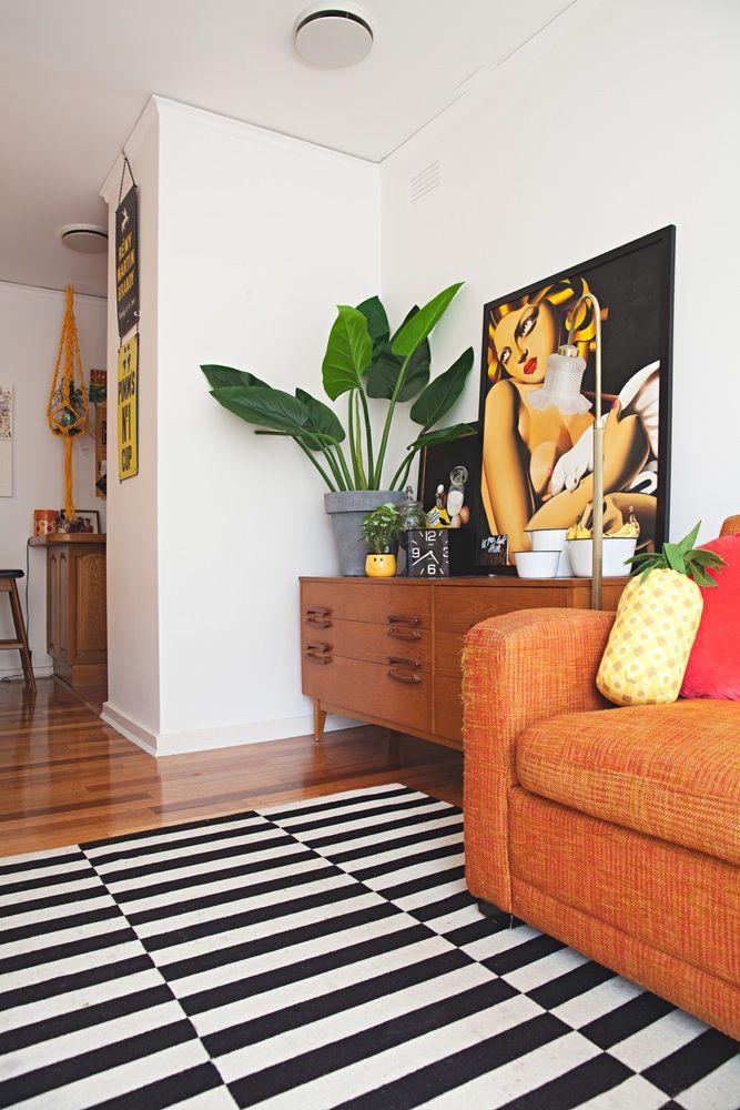 Dresser ❤ Cômoda na sala de estar