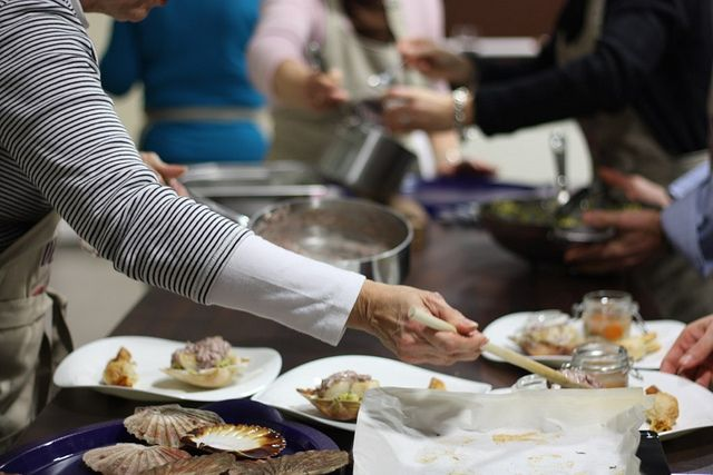 Cours de cuisine, avec Frédéric Coiffé, Bordeaux