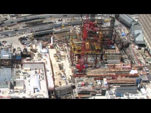 Great time lapse video of World Trade Center construction from 2004-2012 in 2 minutes. It's he tallest building in NewYork now.