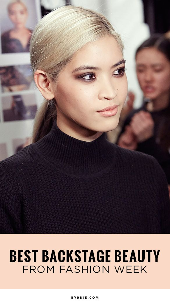 34 unforgettable Fashion Week beauty moments captured in photos (via @byrdiebeauty)