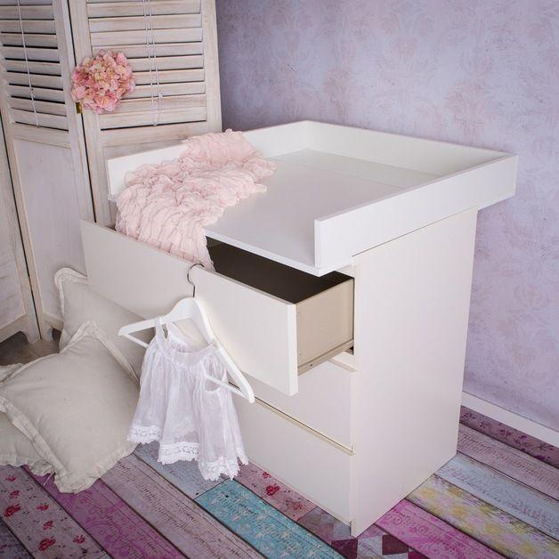 Babyzimmer ikea malm  Die besten 25+ Wickelaufsatz ikea malm Ideen auf Pinterest ...