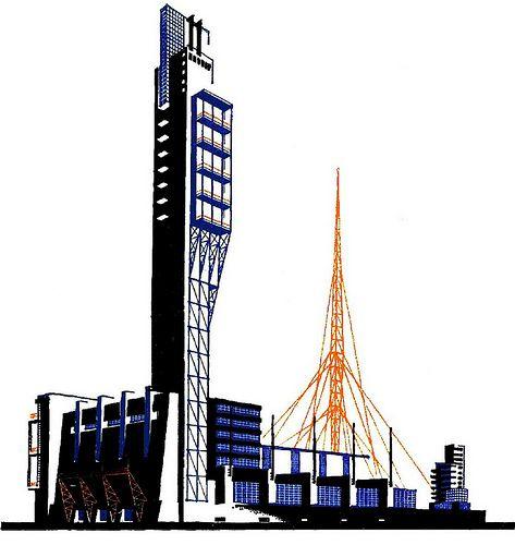 46 Best Images About Iakov Chernikhov Architectural