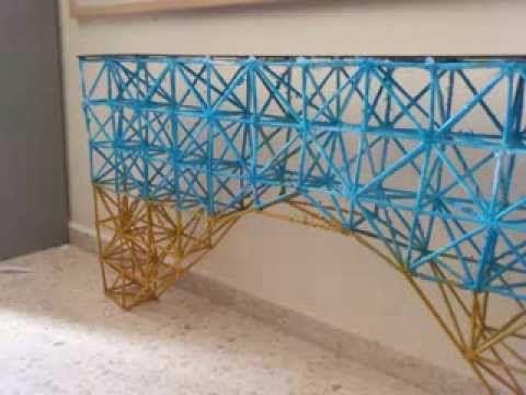 esta es un tipo de estructuras trianguladas