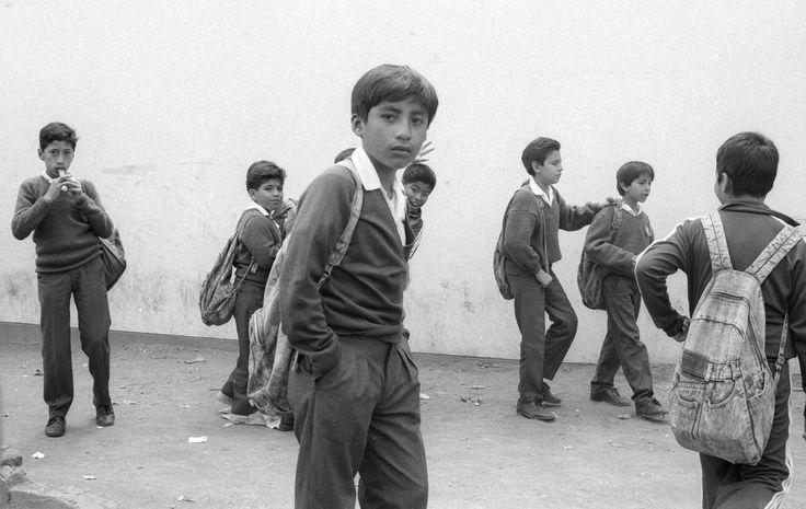https://flic.kr/p/TaWeo7 | Niños, Lima, 1992