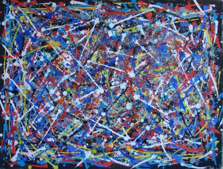 Untitled XVII, acrilico su tela cm 175x133 2014