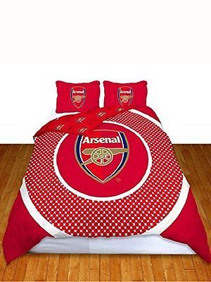 Arsenal official bullseye #double #duvet #cover set - red/white,  View more on the LINK: http://www.zeppy.io/product/gb/2/222189021061/