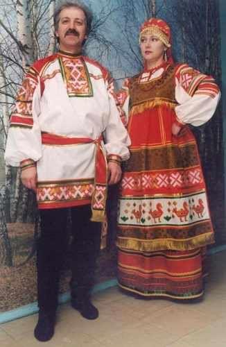 История моды: Русский народный костюм. Общее описание.