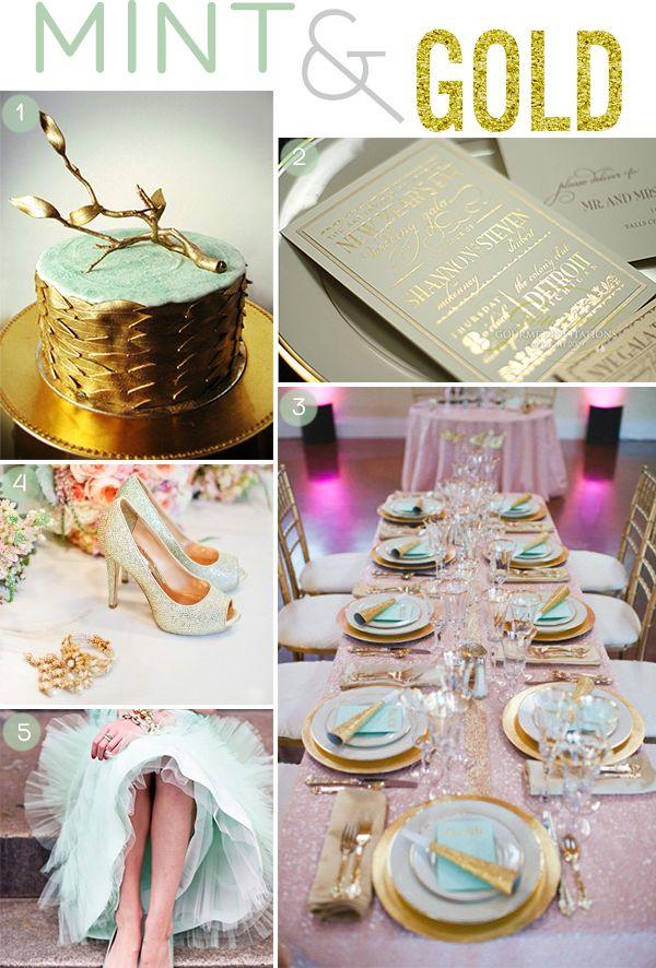 Hochzeitsdeko turkis gold die besten momente der for Hochzeitsdeko gold