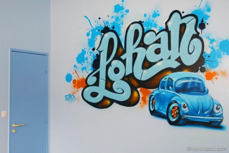 Lohan Graffiti & Coccinelle VW Hard Deco