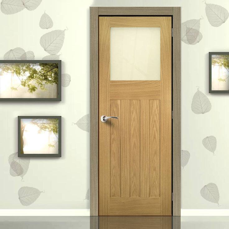 Cambridge Period Oak Door with Frosted Safety Glass Unfinished & Best 25+ Safety glass ideas on Pinterest | How to do stained glass ... Pezcame.Com