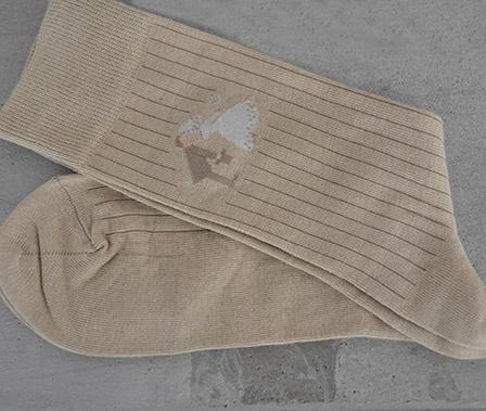 Sokker til brudgom www.abelone.no