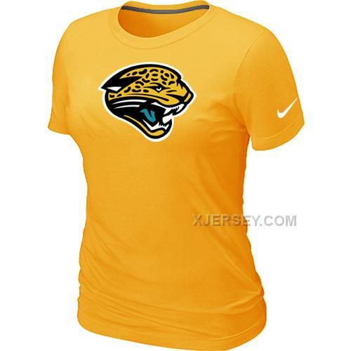 http://www.xjersey.com/jacksonville-jaguars-yellow-womens-logo-tshirt.html Only$26.00 JACKSONVILLE JAGUARS YELLOW WOMEN'S LOGO T-SHIRT #Free #Shipping!