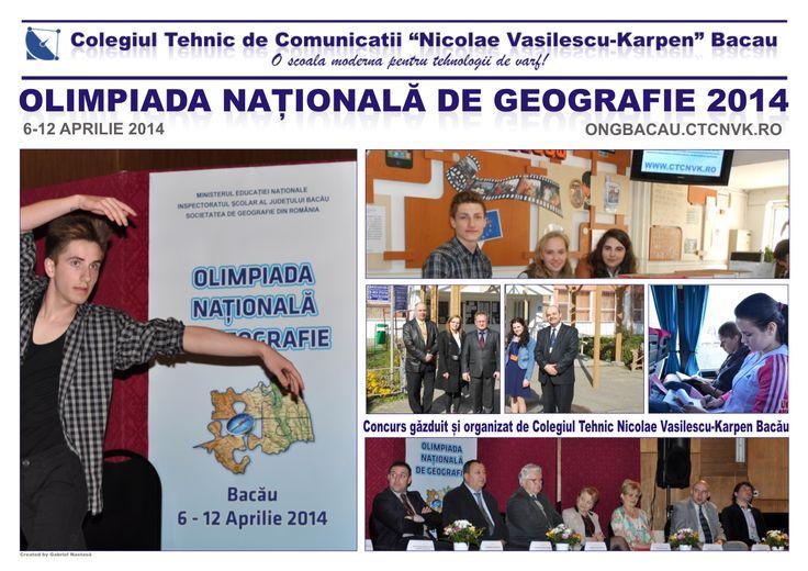 Olimpiada Națională de Geografie 2014