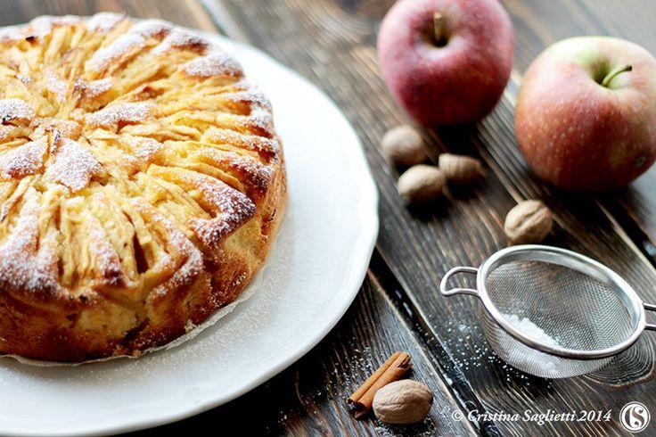 Apple Cake con salsa calda Butterscotch - la Torta di Mele e le sue mille declinazioni -