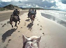 Riding by the Sea in Donegal - Equestrian Vacations - Horse Riding Holidays