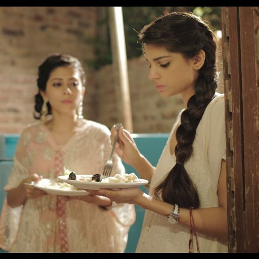 The talented actress and Annie's friend Sanam Saeed