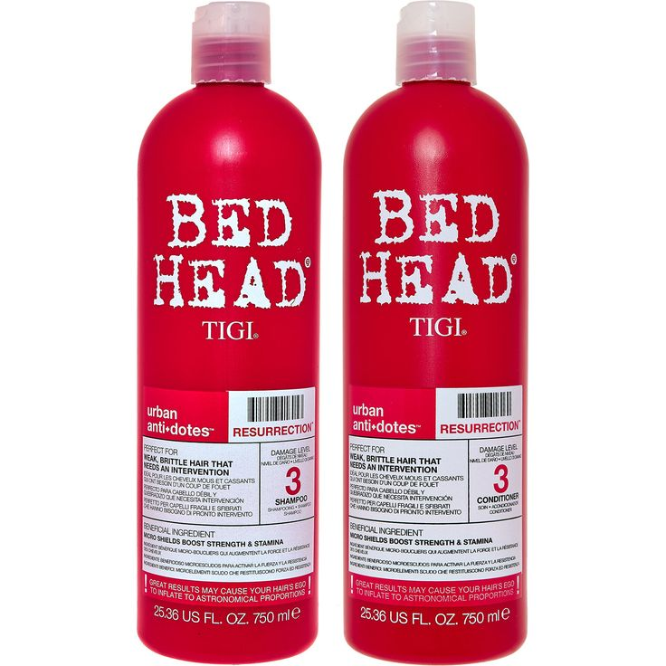 """TIGI"" Bed Head Resurrection Shampoo & Conditioner - TK Maxx, great stuff!"