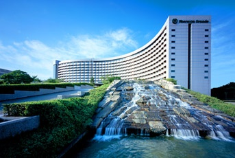 Sheraton Grande Tokyo Bay Hotel. In the heart of the Tokyo Disney Resort®. I'm staying here in January 2013! Can't wait!