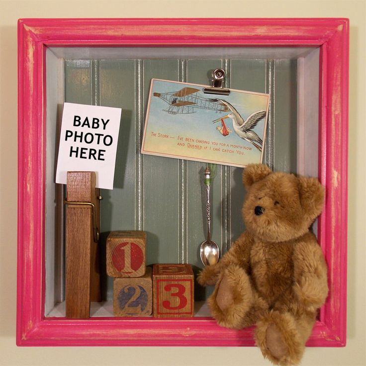 Baby Bedroom In A Box Special: 12x12 Wall Shadow Box