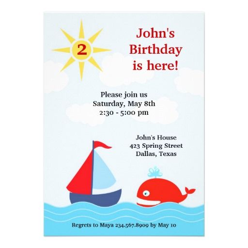 1000+ Ideas About Boat Birthday Parties On Pinterest