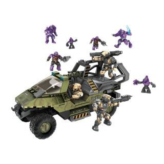 SEALED Halo Mega Bloks 96916 Covenant Strike Lego 9 Action Figures Set