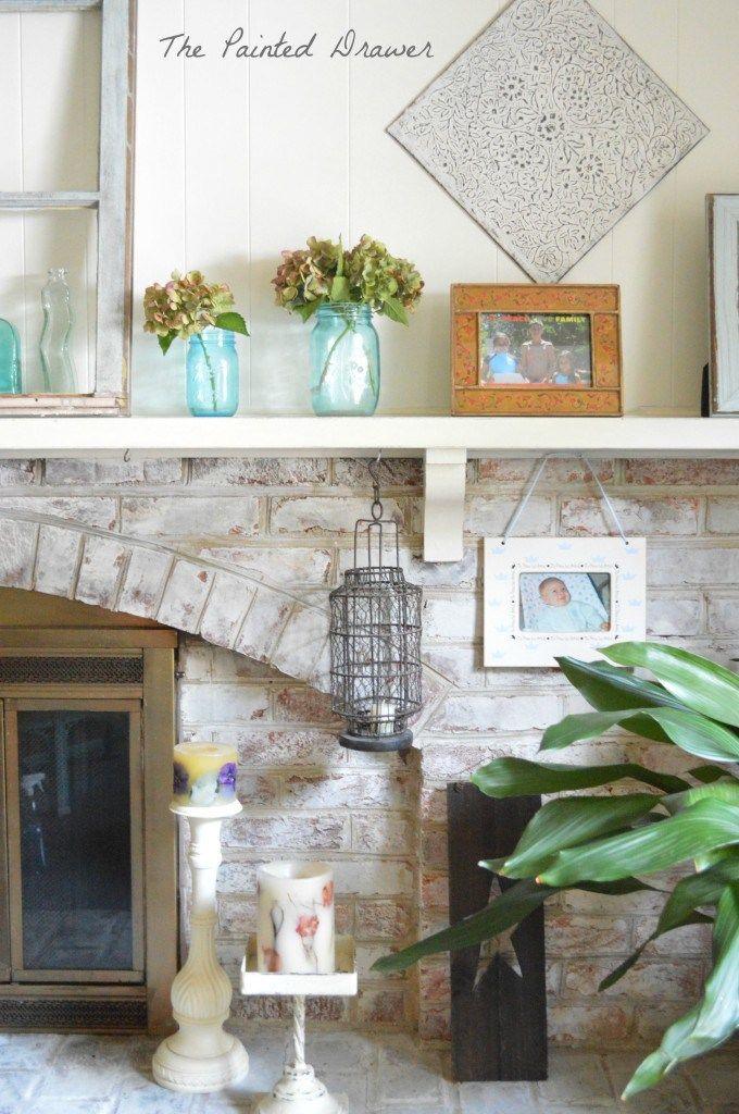 10 best Whitewashed brick images on Pinterest Whitewashed brick