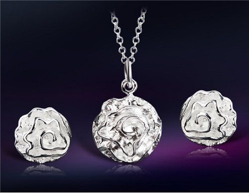 925 Sterling Silver Plated White Copper Rose Shaped Necklace & Earrings Set M. by Preciastore, http://www.amazon.com/dp/B00LC6KBQY/ref=cm_sw_r_pi_awdm_1nHhub05TD34Z