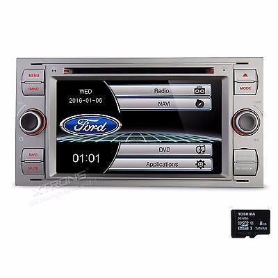 ﹩209.99. for Ford Focus 7 Touch Car DVD Player Stereo Radio GPS Navigation Map MP3 USB  Manufacturer Part Number - 5055869109284, Placement on Vehicle - Front, Warranty - Yes, Type - Head Unit In-Dash Car GPS Navigation DVD Player, Unit Size - 2 DIN, Screen Size - 7in., Resolution - 800x480, Features - Screen Mirroring|GPS Navigation|Radio|Bluetooth, Map - Latest Official Licence Kudos Map, Color - Gray, UPC - 5055869109284