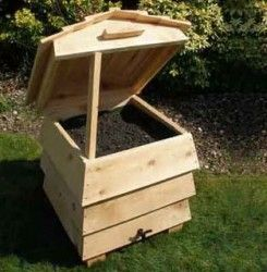 Composting wormer - love the design!