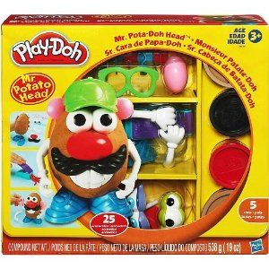"""Play-doh Mr. Potato Head by Hasbro. $45.00. Includes 5 Cans of Dough. Ages 3+. 25 Piece Set. Product Dimensions(in inches)11.7 x 10.3 x 3.5. Description Product Description Mold, make and style a few new spud pals! Use the Play-Doh modeling compound to mold a few """"potato"""" bodies and add some of the 25 accessories to create cute or crazy looks for your new friends. Want to get even wilder? Create new accessories with your PLAY-DOH modeling compound and the mini FUN FACTORY tool a..."""