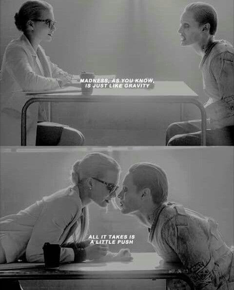 Harley Quinn & The Joker #SuicideSquad