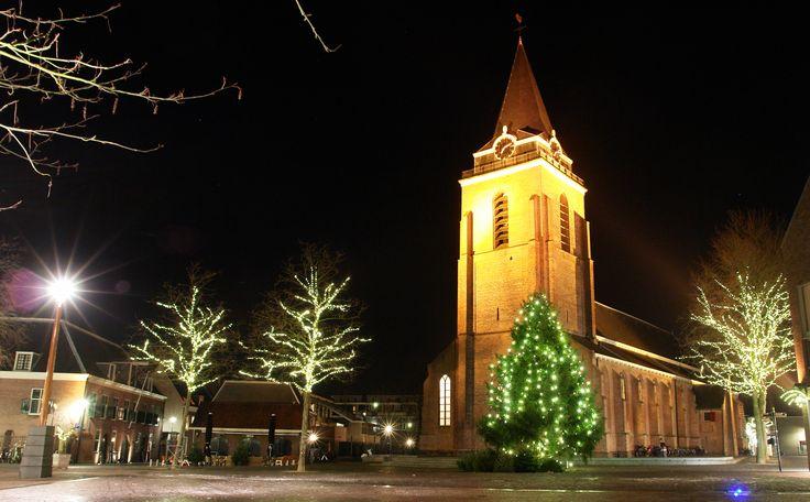 Fotograaf: Harald Lakerveld - Kerkplein Woerden met kerst