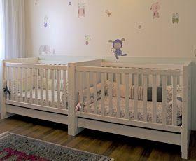 Gemelares.com.br - Site para gestantes e mães de gêmeos, trigêmeos, quadrigêmeos ou mais! : 50 Ideias de quartos para bebês gêmeos