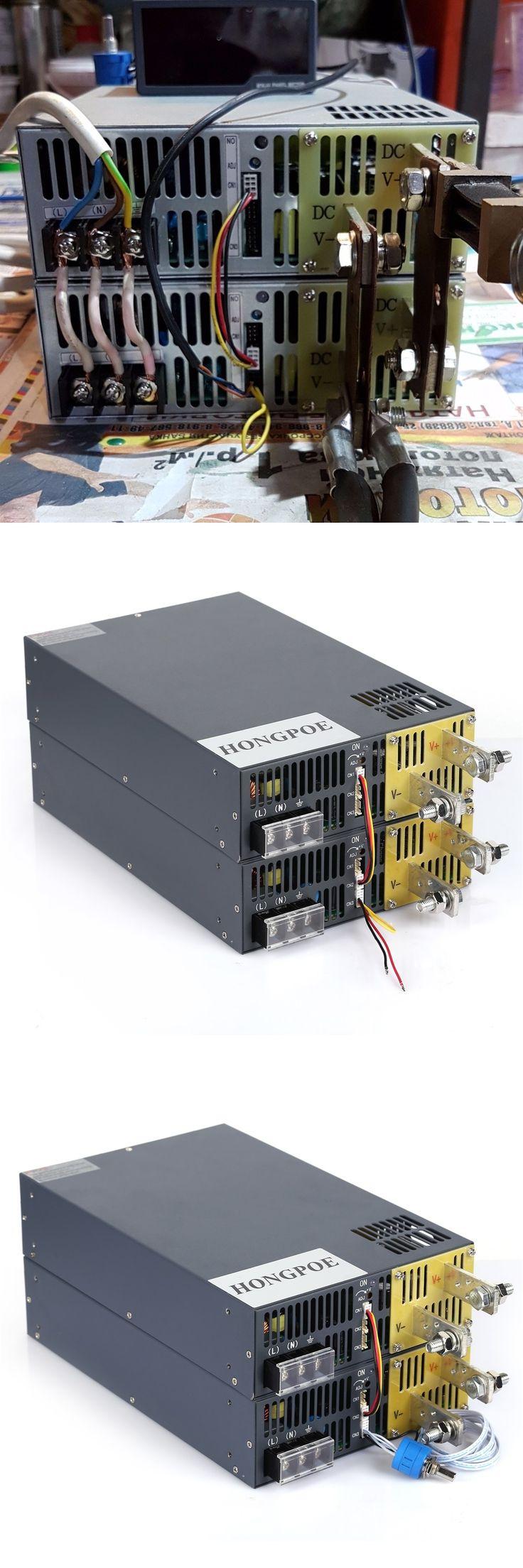 4000W 12V 333A DC 0-12v power supply  12V 333A AC-DC High-Power PSU 0-5V analog signal control SE-4000-12
