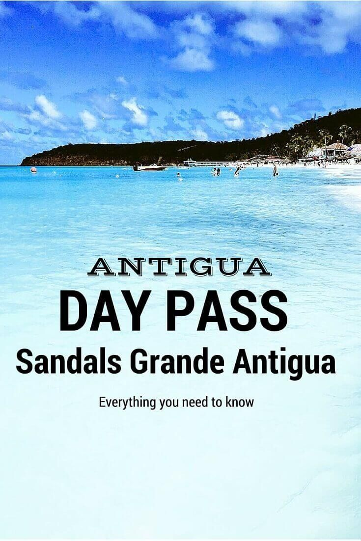 Details on getting a Day Pass to Sandals Grande Antigua