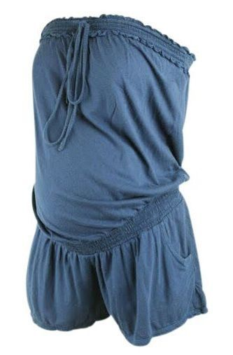 Motherhood Closet - Maternity Consignment - Navy Blue Motherhood Maternity Romper (Gently Used - Size Medium), $16.00 (http://www.motherhoodcloset.com/navy-blue-motherhood-maternity-romper-gently-used-size-medium/)