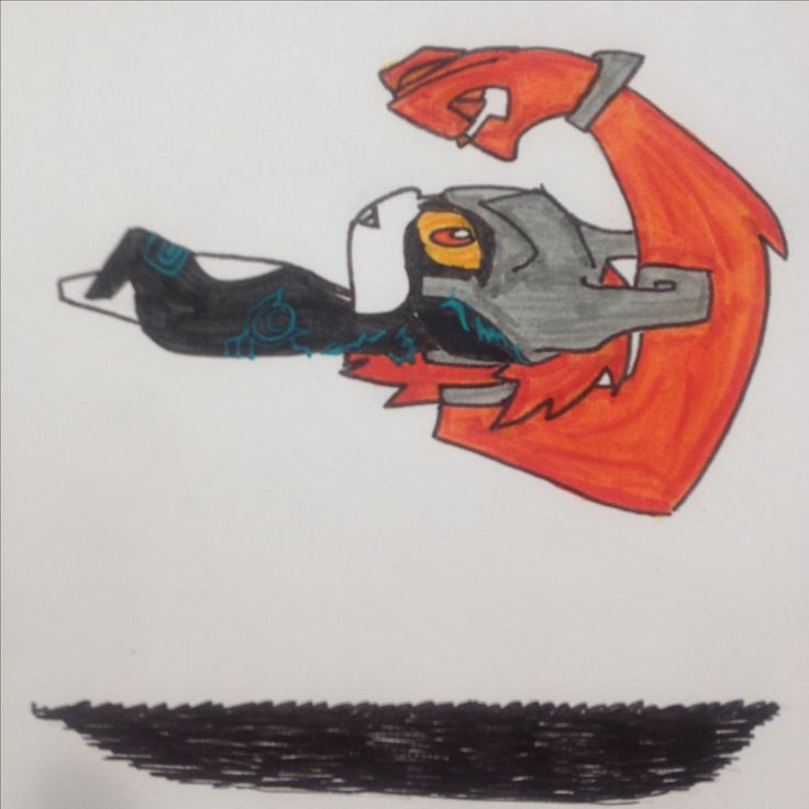 Midna drawing by Dhalie Fortin