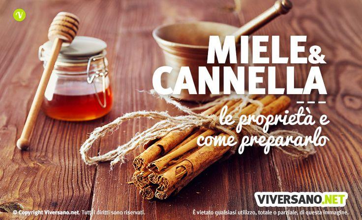 Il miele e la cannella, se uniti, possono contrastare numerose malattie come colesterolo o calvizia ed è molto utile per perdere peso.