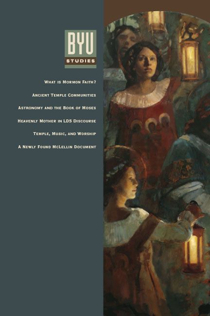 """""""A Mother There"""": A Survey of Historical Teachings about Mother in Heaven (article published by BYU Studies) $2"""