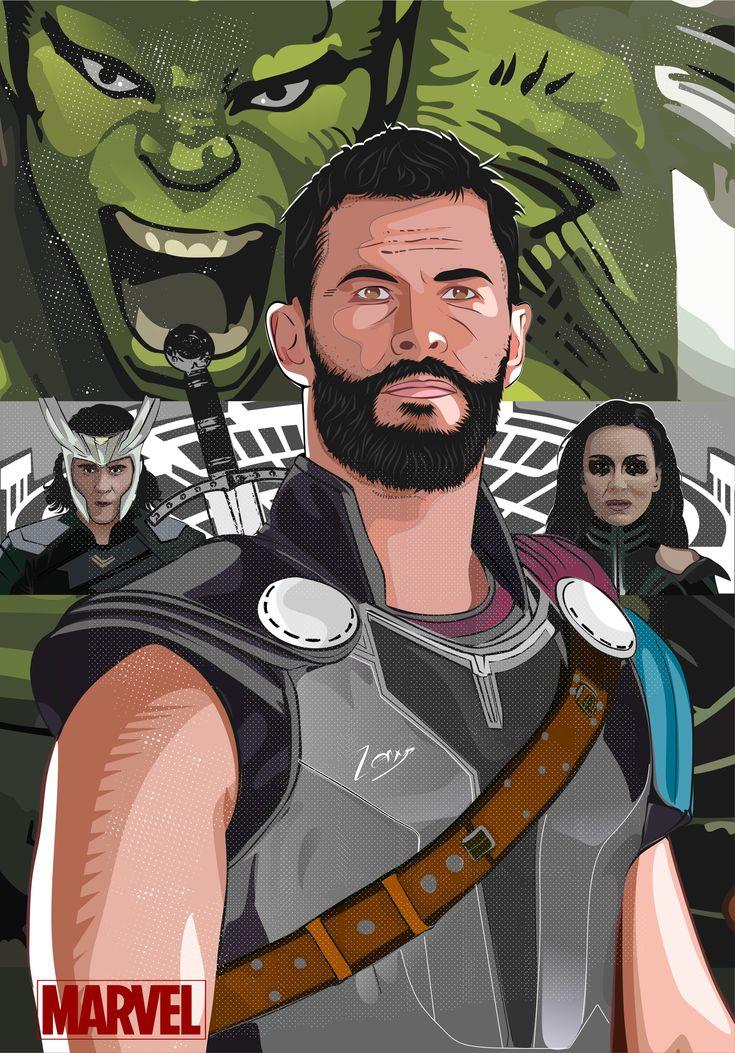 ArtStation - Thor Ragnorak, Zenxys Zen