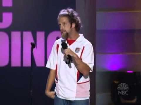 JOSH BLUE - Standup Comedian Video The Paralympics.