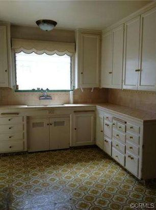 Best  California Spanish Colonial with mostly original kitchen Note the pull out cutting boards