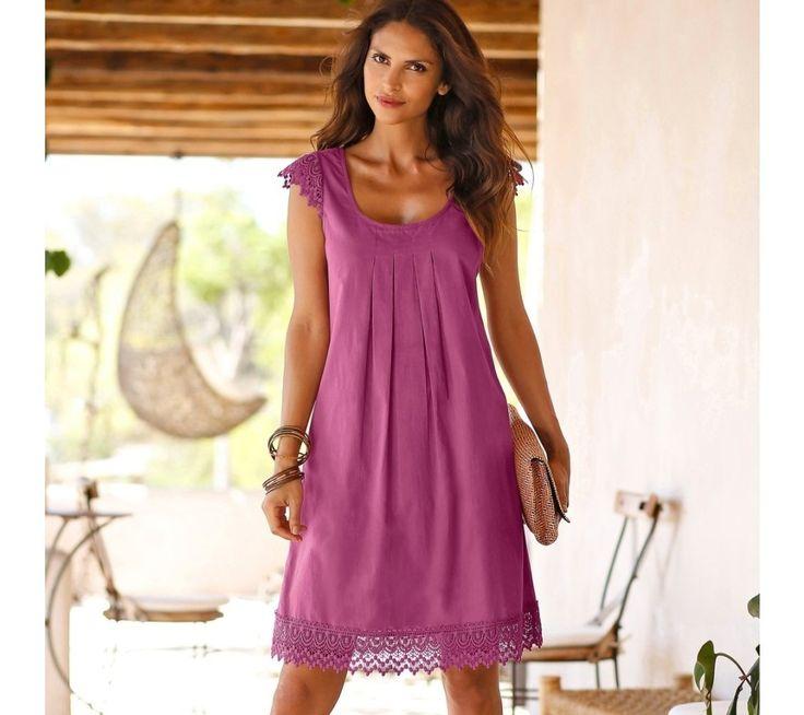 Šaty s macramé | blancheporte.cz #blancheporte #blancheporteCZ #blancheporte_cz #dress