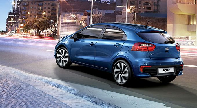 The Kia Rio Is Offered In A Stylish Sedan Or 5 Door Hatchback