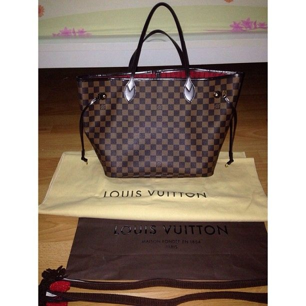 Louis Vuitton Neverfull Handbags - 232.99$ #Louis #Vuitton #Neverfull #Handbags