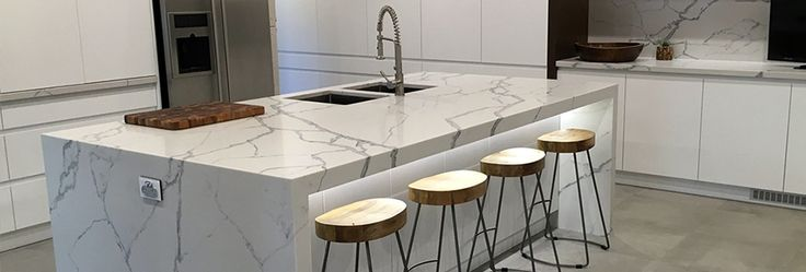 Smartstone kitchen countertop, island bench and splashback
