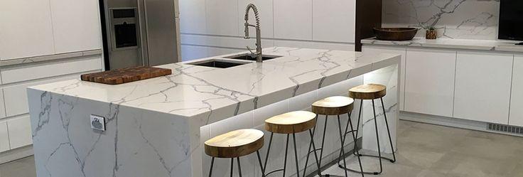 Smartstone kitchen countertop, island bench and splashback