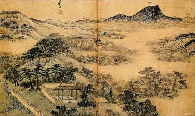The Real Landscape Painting  삼승조망도  1740
